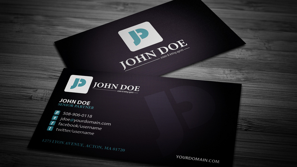 Full Color Business Cards 16pt - Print N Award